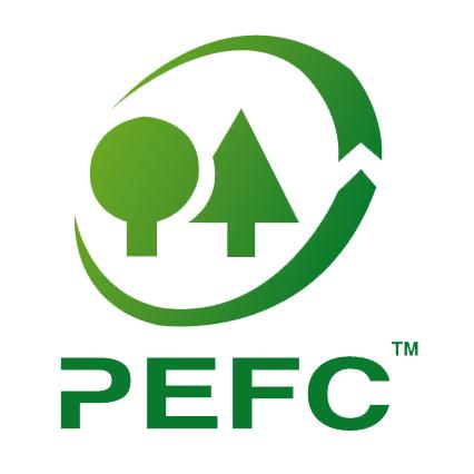 Cantello Torino - La certificazione PEFC™  garantisce che le forme di gestione dei boschi da cui proviene la cellulosa rispondono a determinati requisiti di sostenibilità ambientale e sociale concordati a livello europeo.
