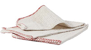 Cantello Torino - Strofinacci in cotone a nido d'ape per lavaggio e spolvero pavimenti